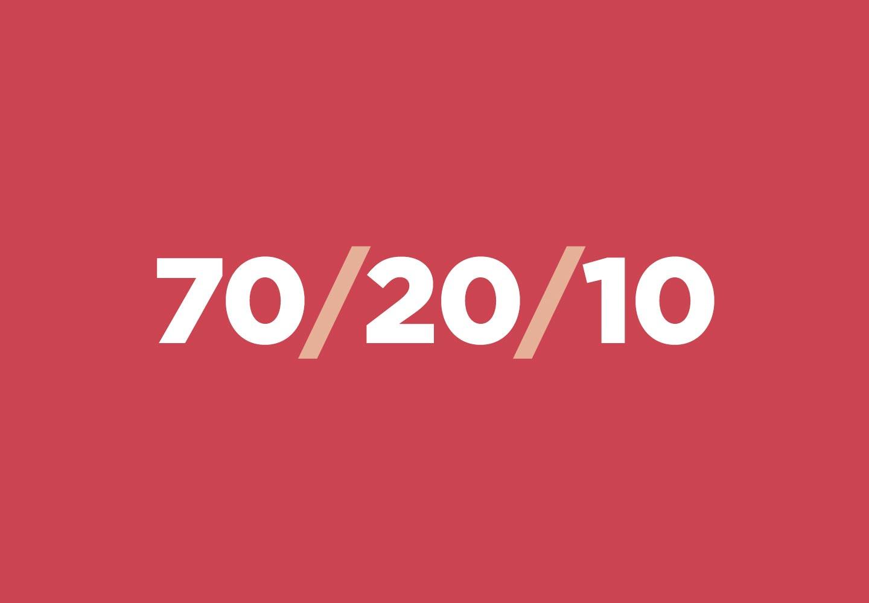 As novas tecnologias aplicadas ao modelo 70-20-10