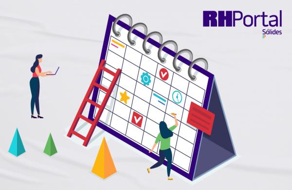 calendário do RH