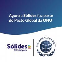 Solides firma participação em Pacto Global da ONu